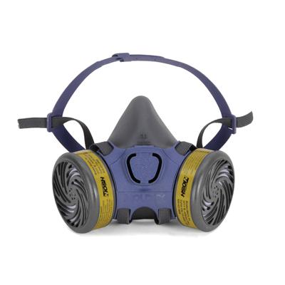 multi-gas half-face reusable face mask for respirator