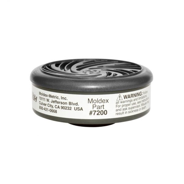 acid gas cartridge filter specifically designed for reusable respirator face masks