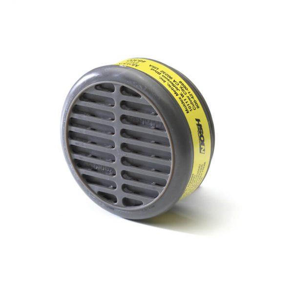 organic vapors cartridge filter engineered for reusable respirator face mask
