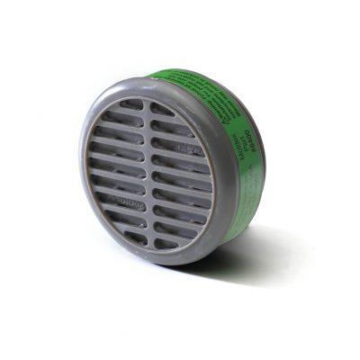 ammonia methylamine cartridge filter engineered for reusable respiratory face masks