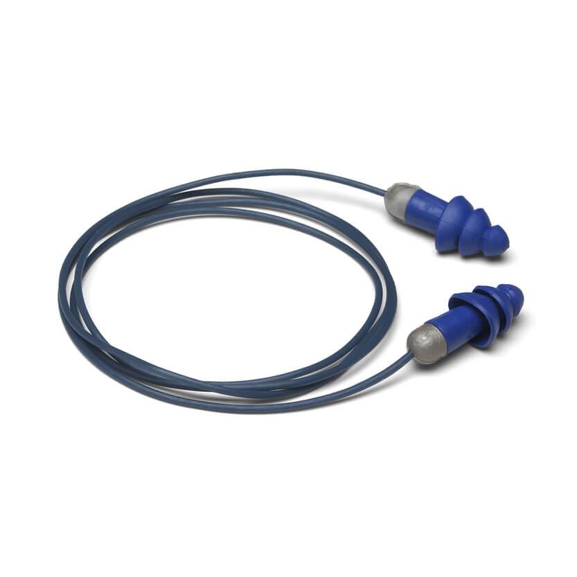Rockets<sup>®</sup> Metal Detectable Reusable Earplugs - NRR 27dB